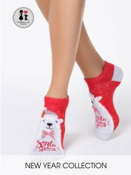 носки женские новогодние носки