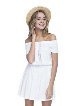 платье женское платье LPL 523 15С-073ТСП, размер 158,164-100-106, цвет молочный