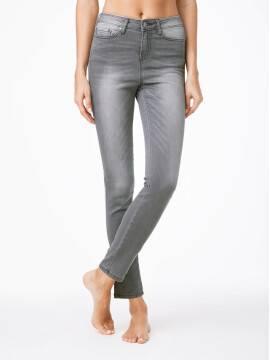 Джинсы женские классические Джинсы классические Skinny CON-49 , размер 170-102, цвет серый