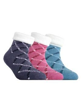 Носки хлопковые детские SOF-TIKI (махровые с отворотом, антискользящие) 7С-98СП, размер 14, цвет голубой