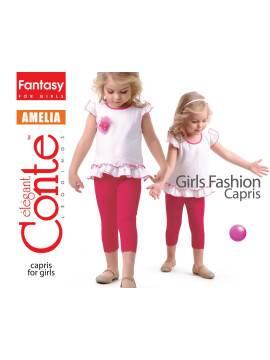Бриджи для девочки AMELIA 15С-063ДЛСП, размер 122,128-64, цвет black