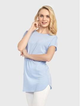 Джемпер женский Джемпер LD 714 17С-355ТСП, размер 170-100, цвет голубой
