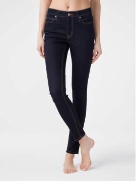брюки джинсовые ультракомфорные eco-friendly джинсы skinny со средней посадкой CON-183 CON-183, размер 164-102, цвет indigo