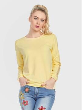 джемпер женский джемпер LD 706 17С-347СП, размер 158,164-100, цвет желтый