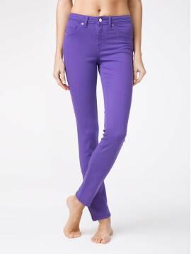 брюки джинсовые моделирующие soft touch джинсы CON-38V CON-38V, размер 164-90, цвет royal violet