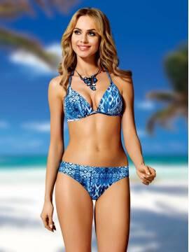 Купить купальник женский №36 цвет серый-черный в интернет магазине ... 3738252efa75d