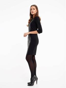 Платье женское Моделирующее платье с фигурной вставкой