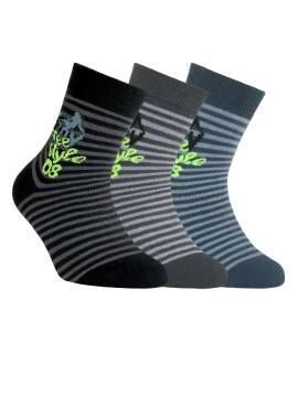 Носки хлопковые детские TIP-TOP 5С-11СП, размер 24, цвет темно-серый