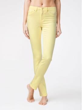 брюки джинсовые моделирующие soft touch джинсы CON-38Y CON-38Y, размер 164-102, цвет pastel yellow