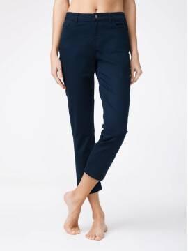 брюки джинсовые укороченные джинсы со средней посадкой CON-139B CON-139B, размер 164-102, цвет dark navy