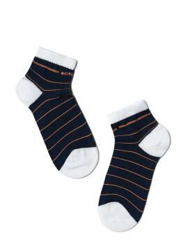 носки детские ACTIVE (короткие) 13С-34СП, размер 16, цвет темно-синий-оранжевый