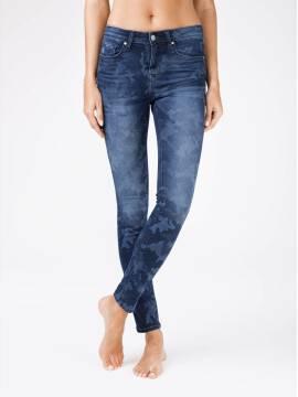 джинсы женские fashion eco-friendly джинсы с принтом