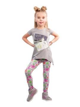 Леггинсы для девочек TOTTI 16С-256ДТСП, размер 110,116-56, цвет fumo