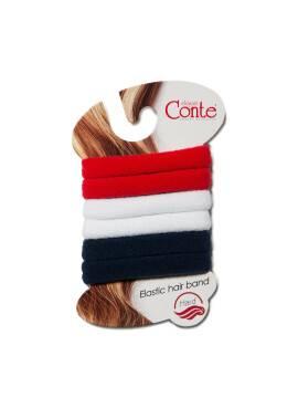 Резинка для волос HARD (6 шт) 17С-24СП, размер б/р, цвет azure