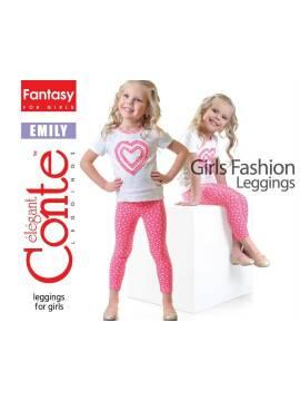 Леггинсы для девочек EMILY 15С-110ДТСП, размер 110,116-56, цвет green
