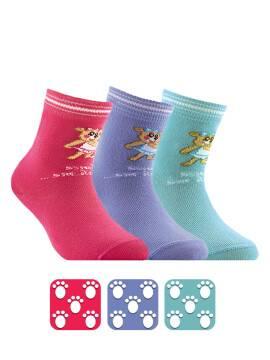 Носки хлопковые детские TIP-TOP (антискользящие) 7С-54СП, размер 12, цвет бирюза