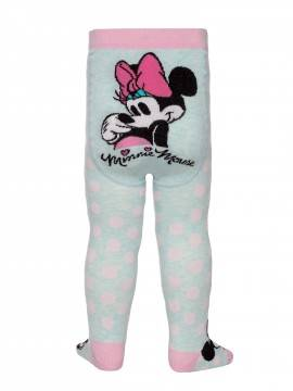 Колготки детские Disney 17С-130СПМ, размер 62-74, цвет бледно-бирюзовый
