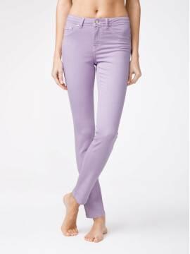 брюки джинсовые моделирующие soft touch джинсы CON-38O CON-38O, размер 164-102, цвет blooming lilac