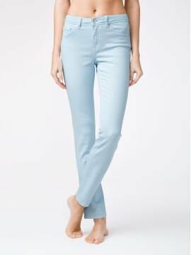 брюки джинсовые моделирующие soft touch джинсы CON-38B CON-38B, размер 164-102, цвет crystal blue