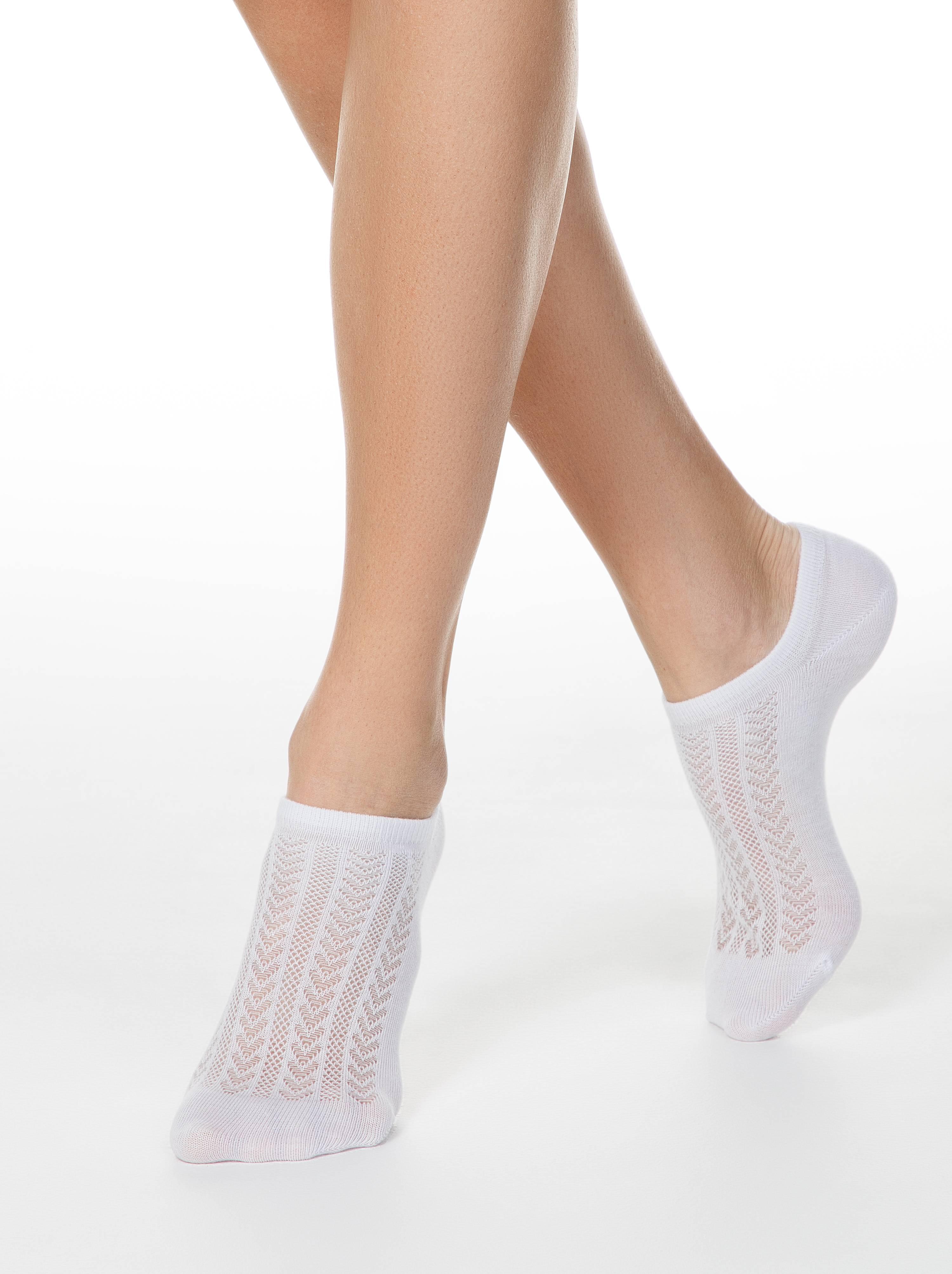 Ультракороткие носки ACTIVE с ажурным переплетением фото